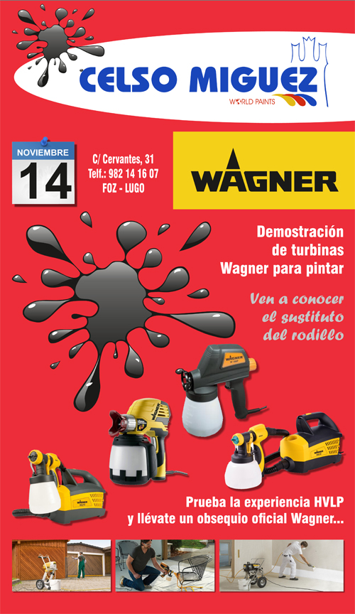 Wagner y Celso Miguez cartel