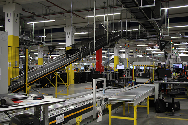 amazon el prat cintas transportadoras