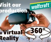 Wolfcraft muestra su fábrica mediante realidad virtual en el Global DIY Summit