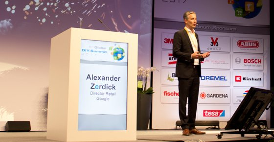 Alexander Zerdick, director de retail de Google.