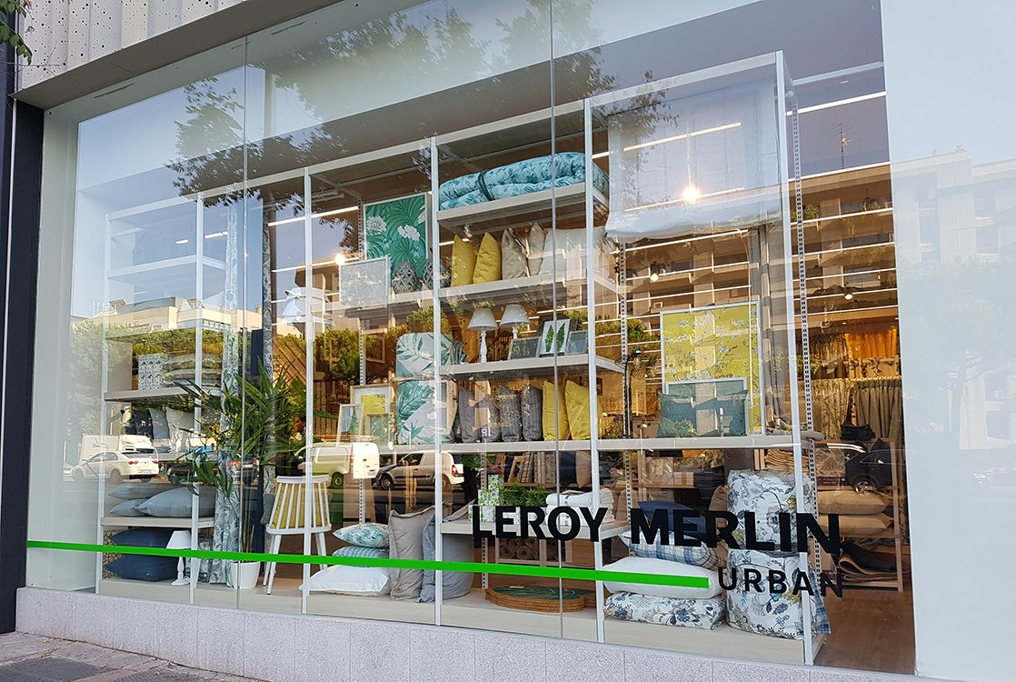 Leroy merlin urban primeras im genes de la apertura for Leroy merlin madrid catalogo