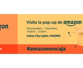 Amazon abre en Madrid una pop-up para el Black Friday