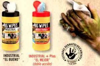 IPT: toallitas limpiadoras Big Wipes